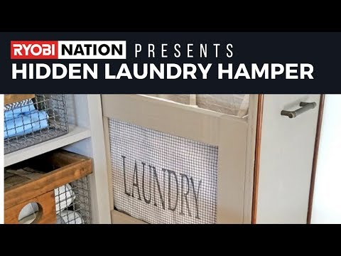 Make Your Own Hidden Laundry Hamper
