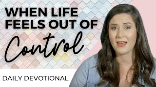 Gambar cover DAILY DEVOTIONAL FOR WOMEN - TAKE BACK YOUR LIFE & STOP FEELING OUT OF CONTROL | WHITNEY MEADE