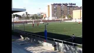 Entrenamiento contraataque fútbol. 2x1 a 2x3. Temp 2010/2011 Juvenil Málaga CF. Antonio Jesús Gálvez