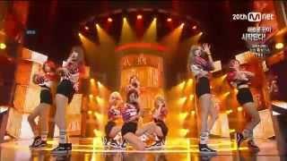 Nine Muses | Hurt Locker live on Mnet M Countdown 150730 [나인…