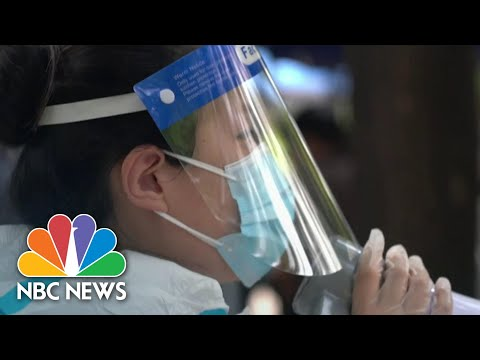 How China Combats Coronavirus Clusters: Mass Testing And Tracking | NBC Nightly News