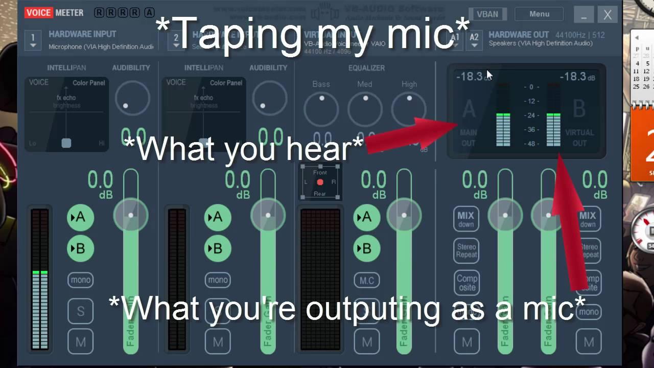 Voice meter tutorial