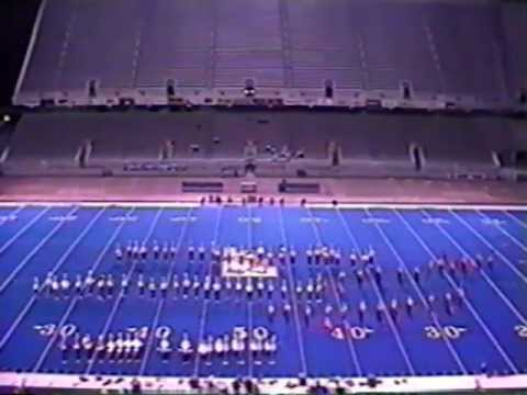 Meridian High School Marching Band 1997