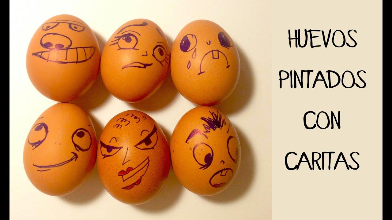 Huevos pintados con caritas Sorpresa en el lunch box  YouTube