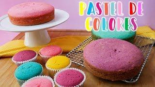 Receta Pastelitos de colores | Cupcakes de Colores | Ale Hervi