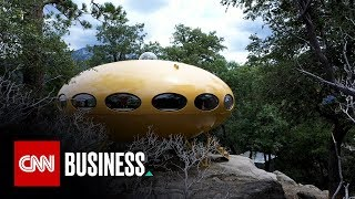 The flying saucer-shaped Futuro home was doomed to fail
