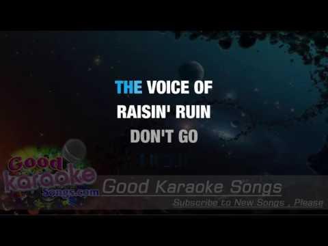 Bad Moon Rising -  Creedence Clearwater Revival (Lyrics Karaoke) [ goodkaraokesongs.com ]