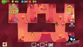 King Of Thieves Insane Base Defences - Base 6 - Random Traps with saw jump by Ash KOT
