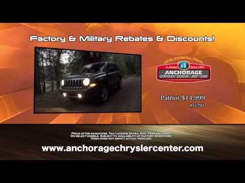 Long Weekend Clearance Sale At Anchorage Chrysler Dodge Jeep Ram In Anchorage, AK