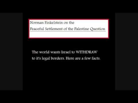 Peaceful Settlement of Palestine Question