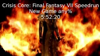 Crisis Core: Final Fantasy VII Speedrun (New Game any%) - 5:52:20