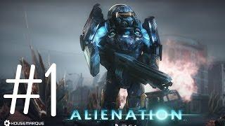 Alienation Gameplay Walkthrough : Part #1 Barrow,Alaska PS4 1080p 60fps