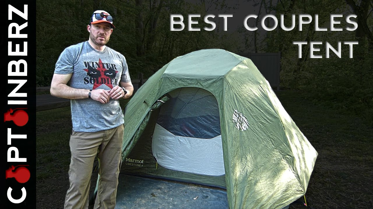 Best Couples Tent for Car Camping Glamping (Marmot Limestone 4P!) - YouTube a2f11c8571