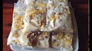 របៀបធ្វើការរ៉េមចេក:khmer make banana ice-cream : How to make banana ice-cream.