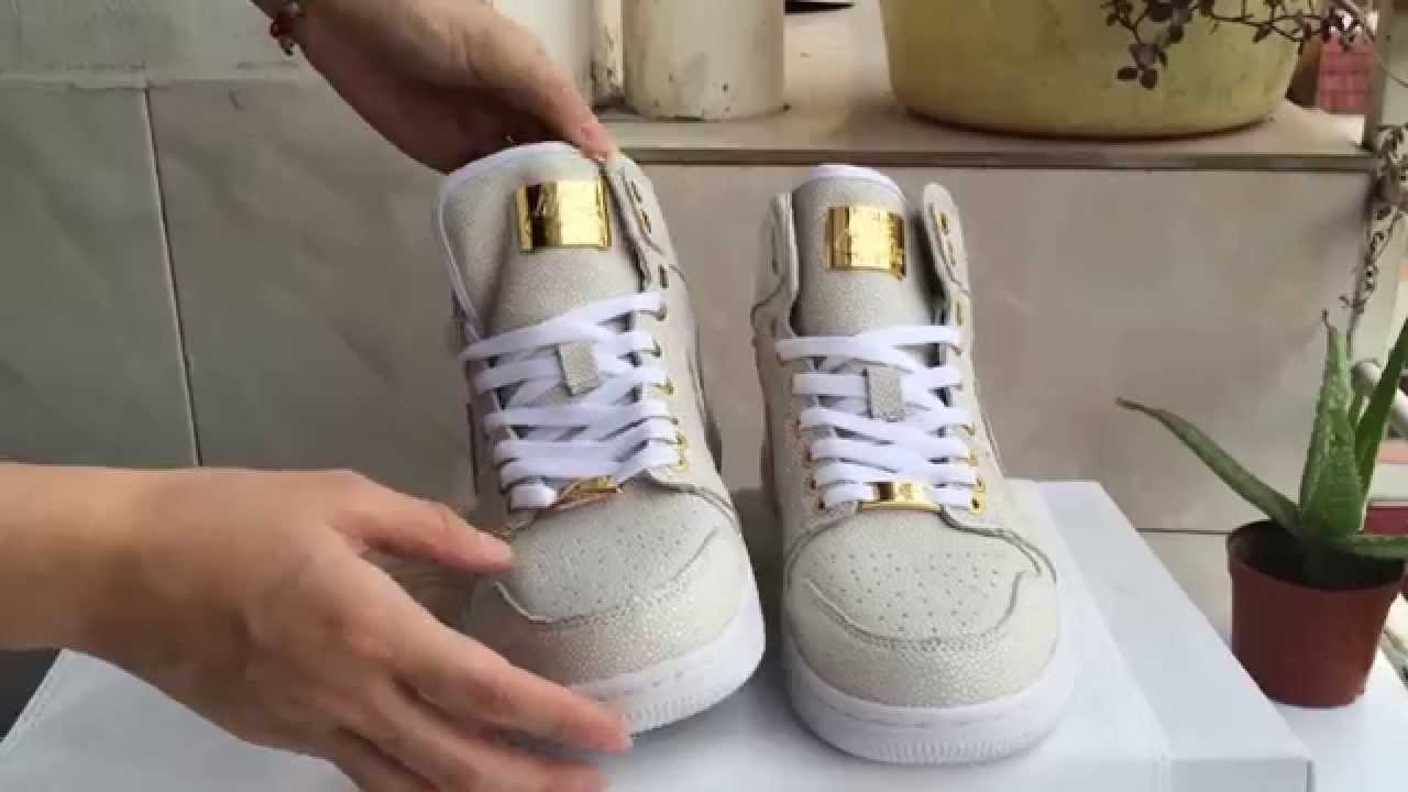 Authentic Air Jordan 1 Pinnacle White from gogokicks.net - YouTube 02d7b3f47
