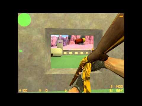 mostrando las armas de counter strike xtreme v5 con pastelgaston