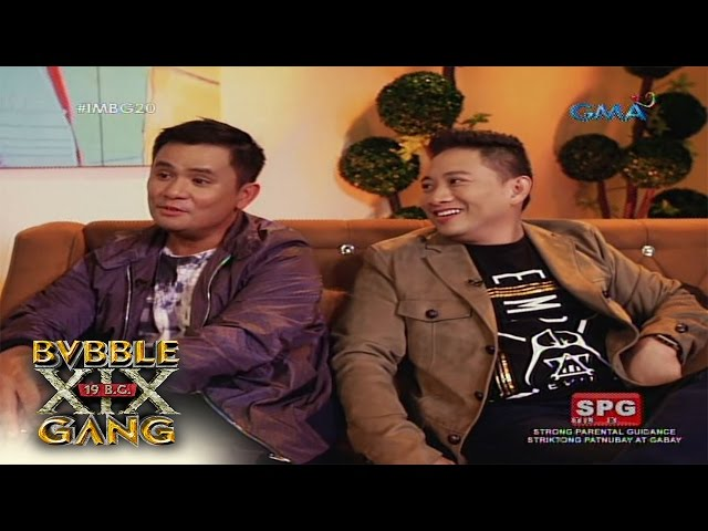 Ogie Alcasids lasting memories on Bubble Gang