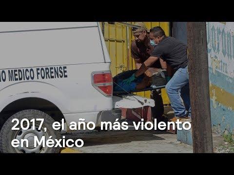 2017, el año más violento registrado en la historia de México - Despierta con Loret