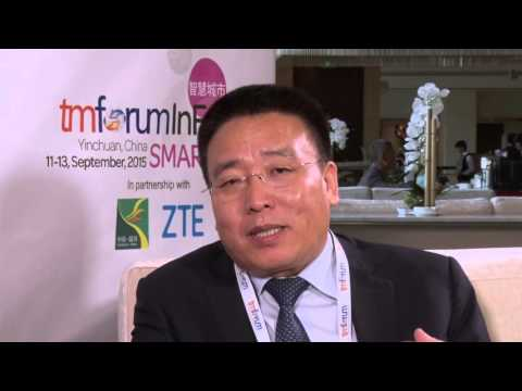 Deputy Mayor Mr Guo Baichun interview at Smart City InFocus 2015