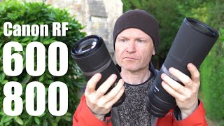 Canon RF 600mm 800mm f11 HANDS ON first looks