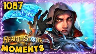 THAT'S A WACKY INTERACTION... | Hearthstone Daily Moments Ep.1087