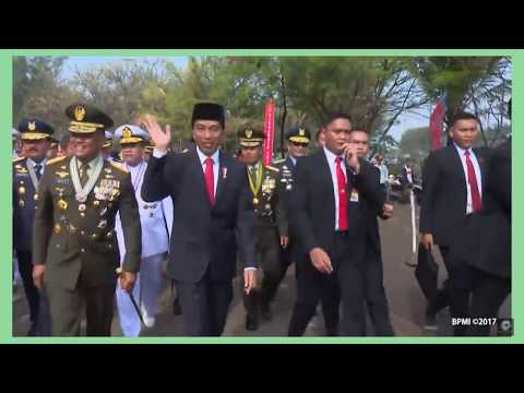 Indonesian President is out of car force by traffic jam Review Current World News