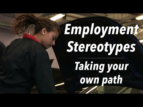 Employment Stereotypes || Taking Your Own Path