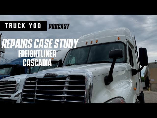 The cost of repairs were 70% of the value of this semi truck. Episode 37