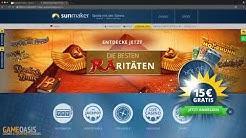 Sunmaker Anmeldung & Einzahlung erklärt - GameOasis