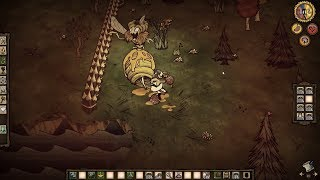 DST Bee Queen Solo Speedrun Kill on Day 5 in 38:58 - Don't Starve Together