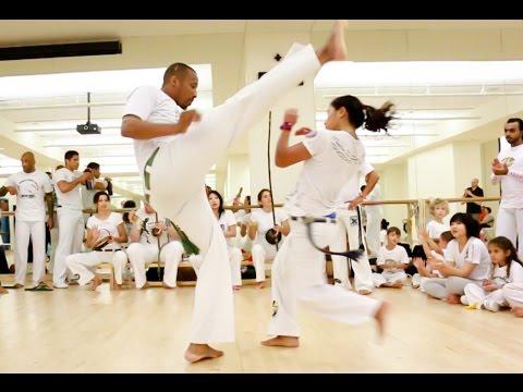 Capoeira Brasil Abu Dhabi 2016 | Workshop & Roda
