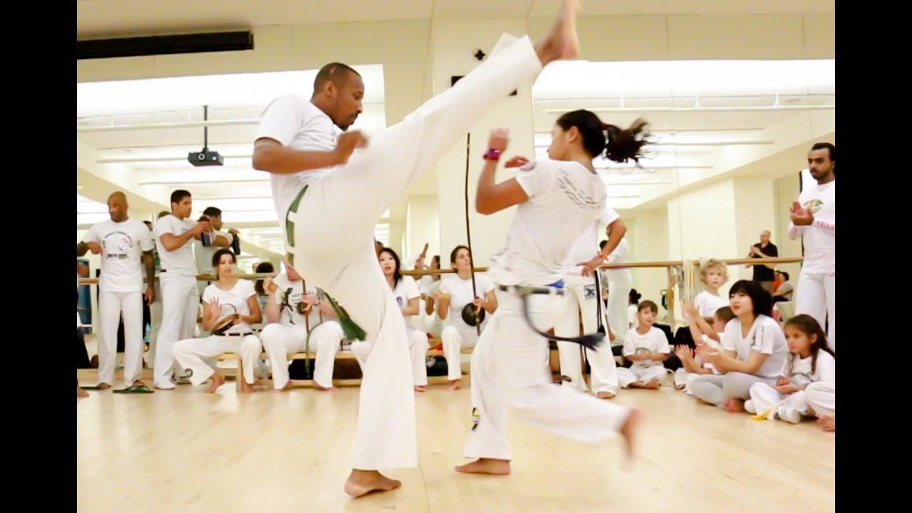 Capoeira Brasil Abu Dhabi 2016 | Workshop & Roda - YouTube