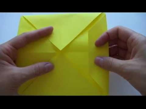 Как сделать бумажную Лодку