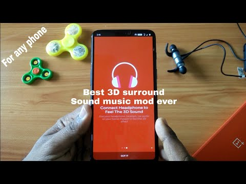Real 3D surround sound music for any phone
