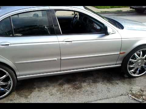 Attractive 03 Jaguar X Type On 22s