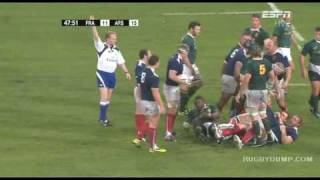 Fra vs SA - Nov 2009 - Rugbydump