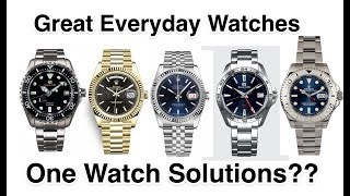 Great Everyday Watch Options