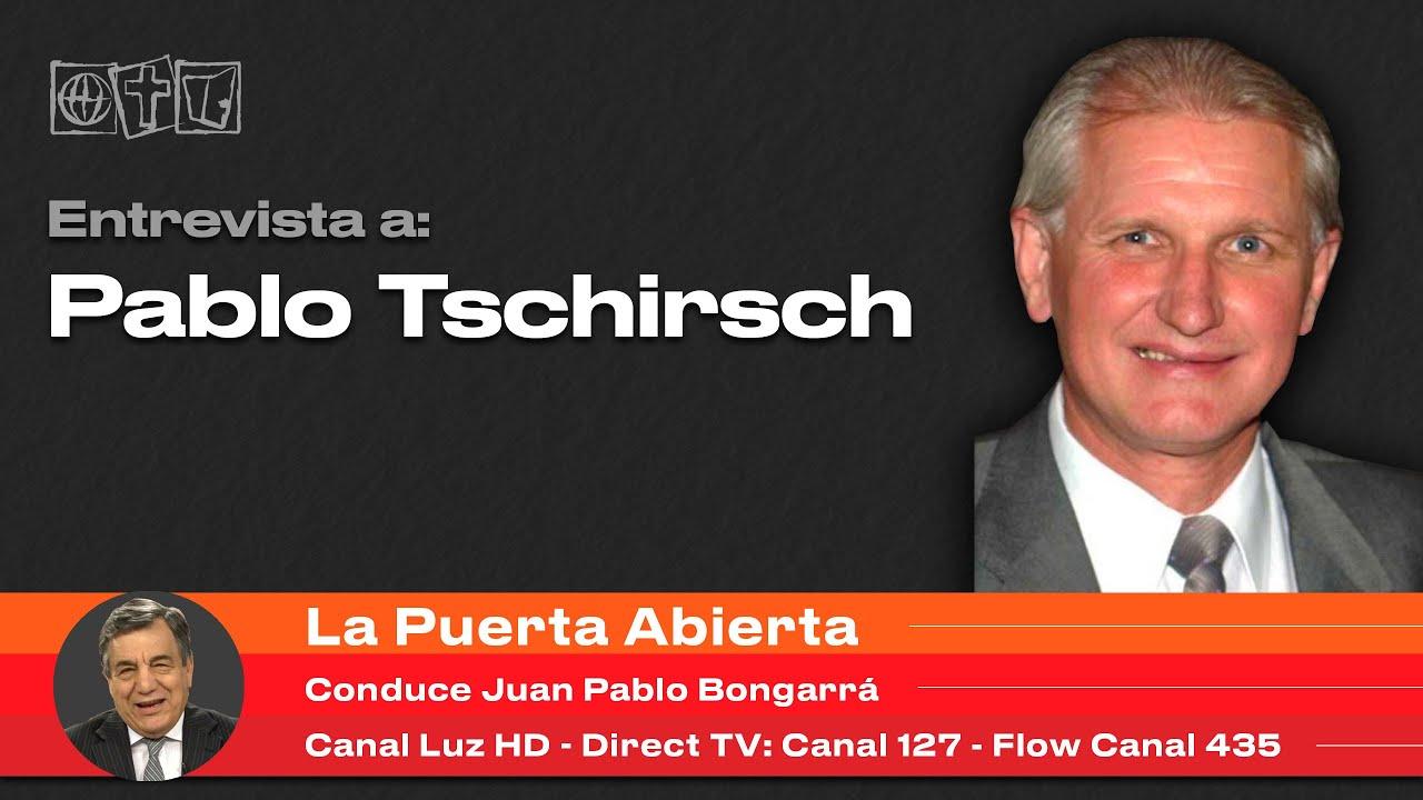 Entrevista A Pablo Tschirsch