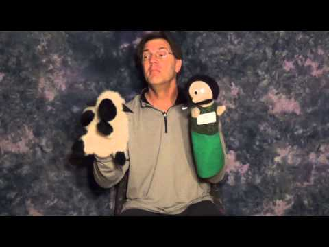 How to Tell Book! Book! Book! with Puppets