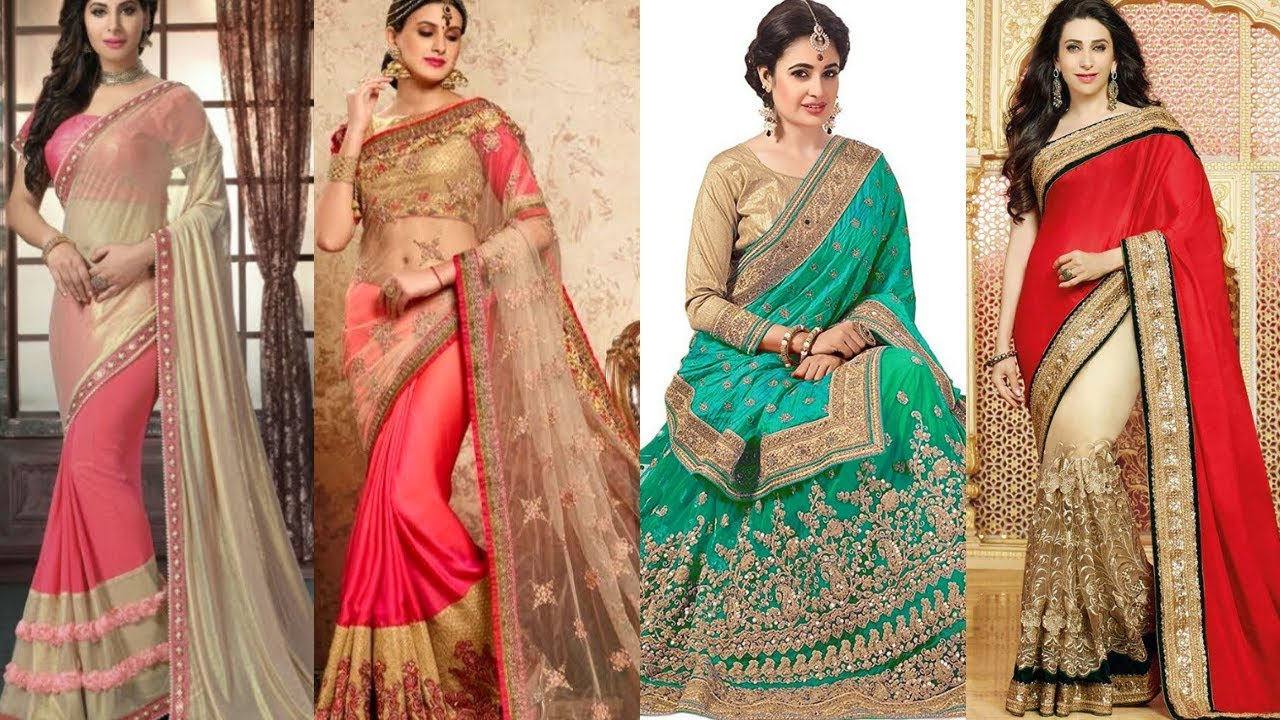 Silk & Net Sarees for Married Women - Party Collection Sarees