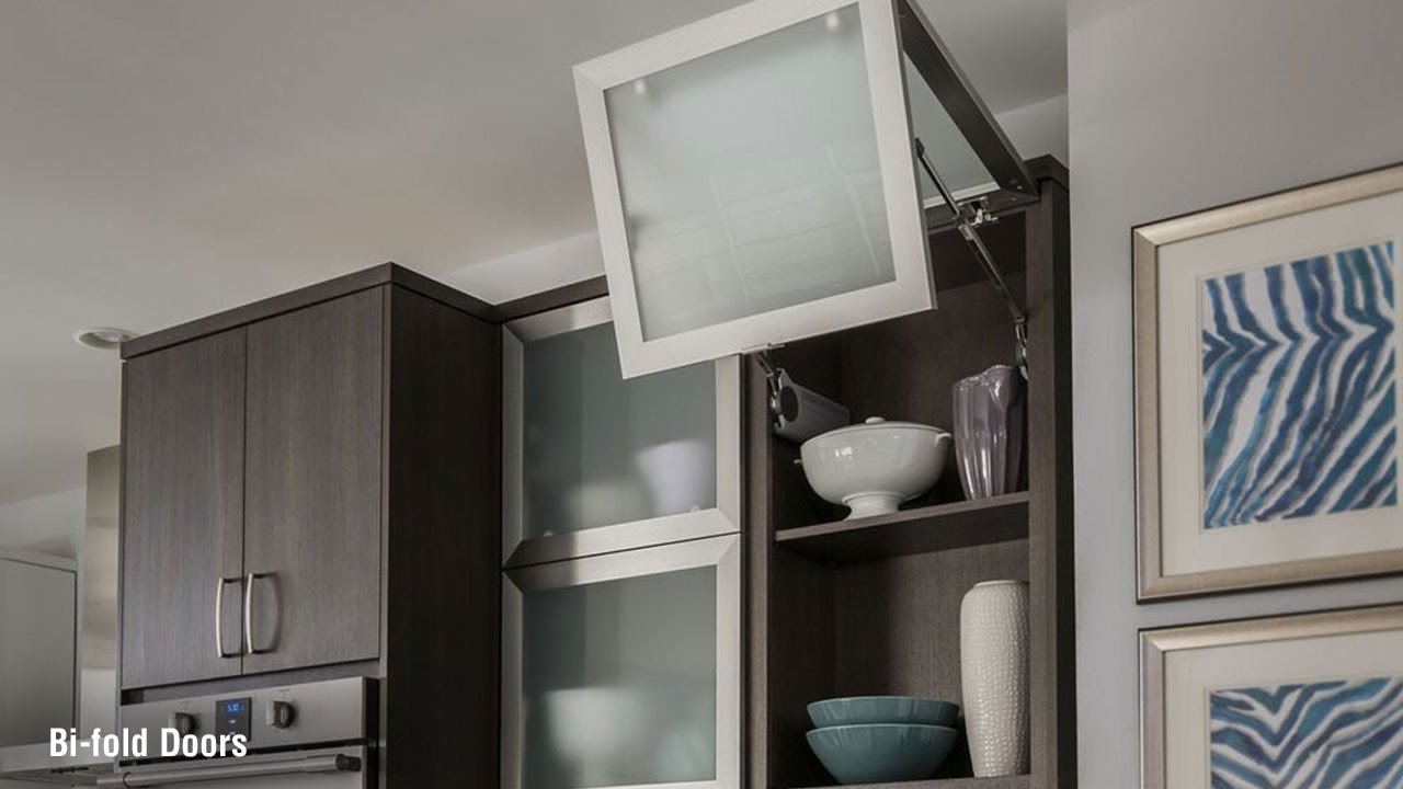 bi fold kitchen cabinet doors pictures for walls schuler cabinetry youtube