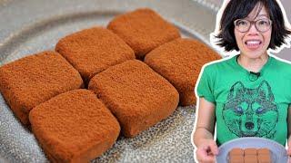 2-ingredient CONDENSED MILK Truffles