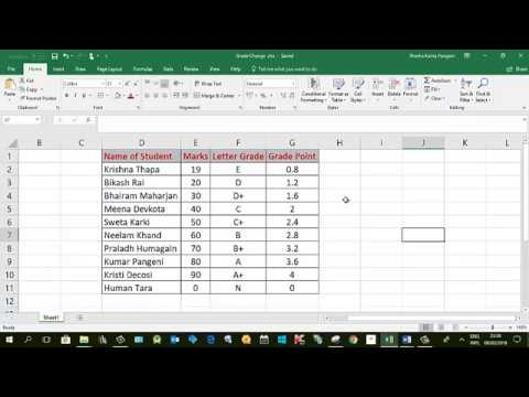 How to convert number to letters? Convert Score in Number to Letter Grades and Grade Points