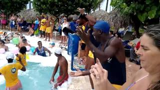 Iberostar Punta Cana Fiesta de la espuma.