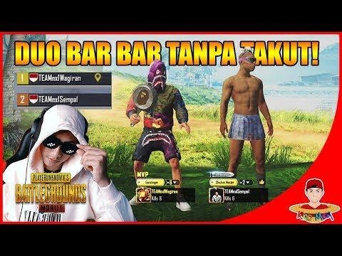 DUO BAR BAR RASA CHEATER ! - PUBG Mobile Indonesia