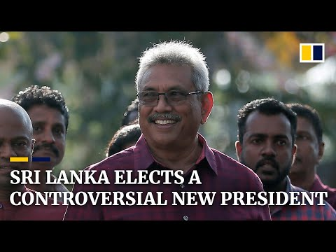 Sri Lanka's newly elected president raises human rights concerns