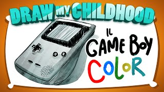 Il mio GAME BOY COLOR! - Draw my Childhood • Fraffrog
