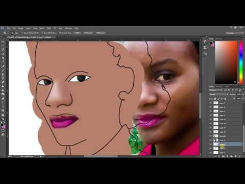 Jinsi ya kudesign picha kuwa na muonekano wa cartoon sehemu ya pili