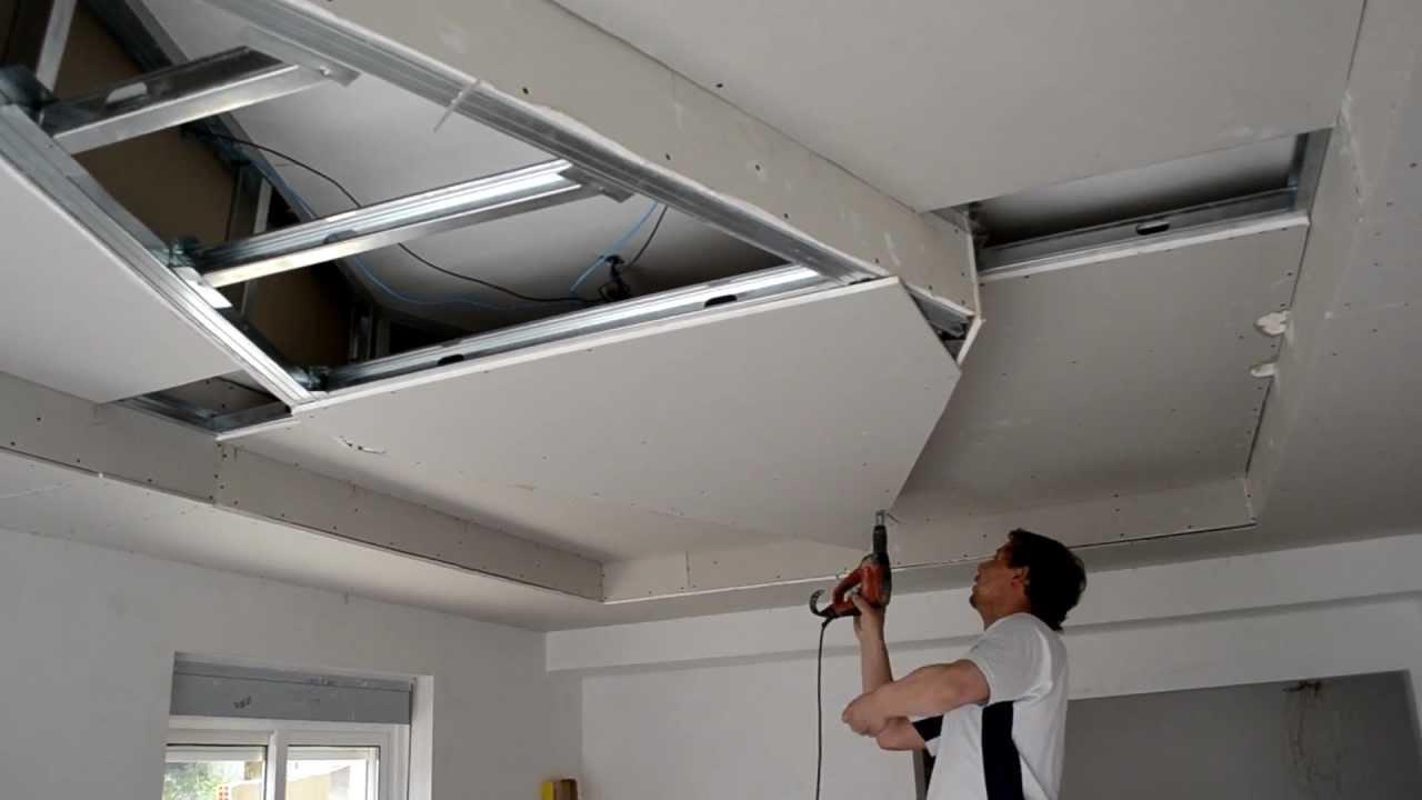 Pladur youtube - Como colocar pladur en techo ...