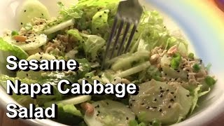 Sesame Napa Cabbage Salad Recipe & Tips For Growing